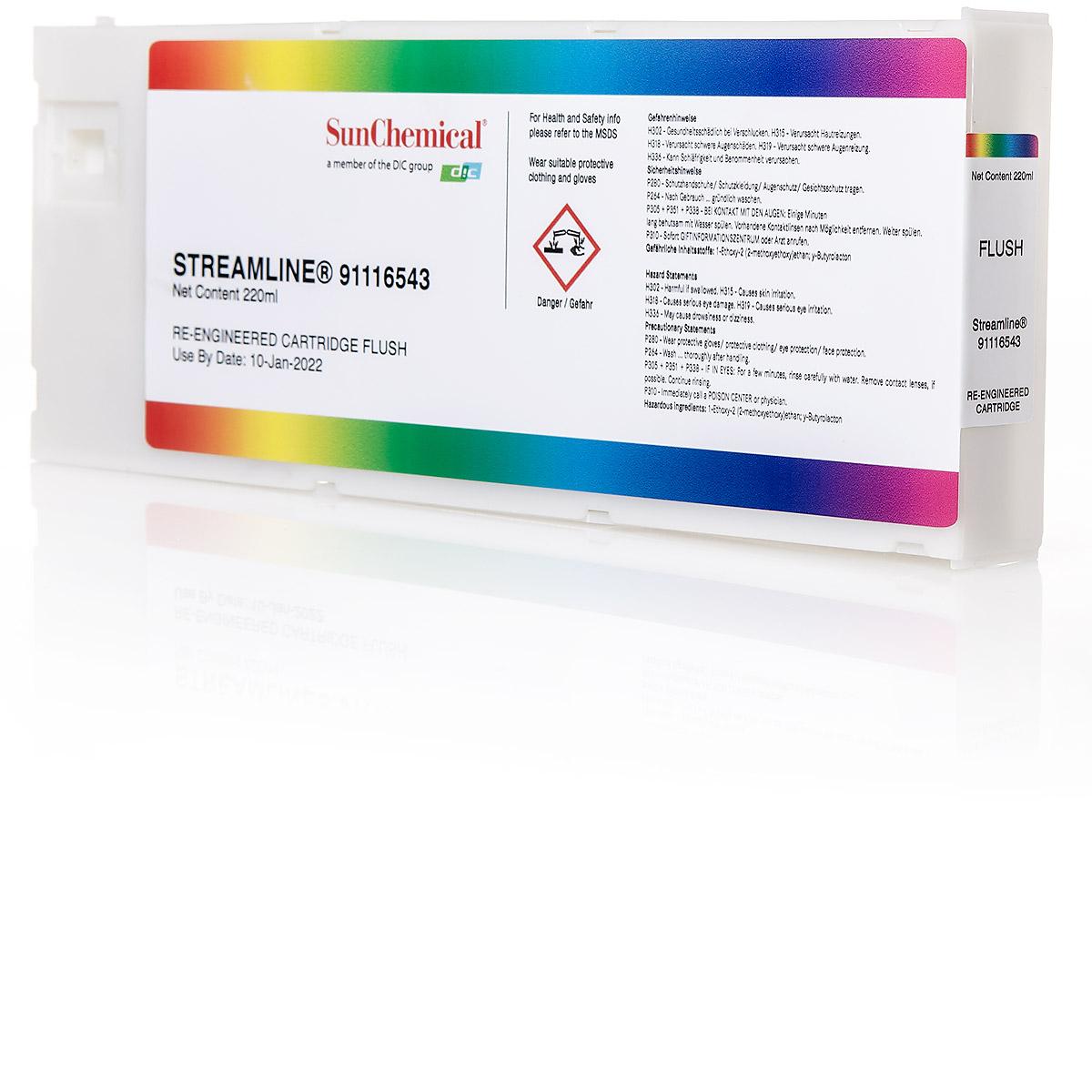220ml Reinigungskartusche Streamline® ohne Chip für Roland® Mimaki®