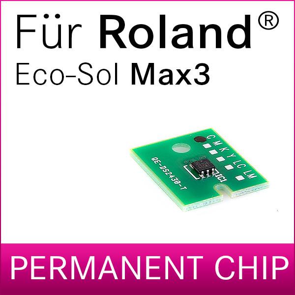 Permanent-Chip für Roland® EcoSol Max 3