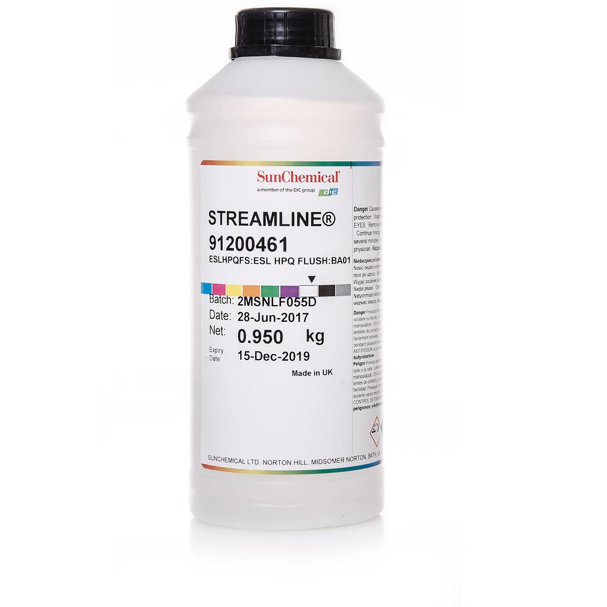 1L Druckkopfreiniger | Flush | für Streamline® Solvent Tinte | SunChemical®