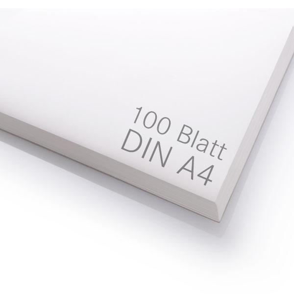 Sublimationspapier | Transferpapier für Sublimation | 100 Blatt | A4