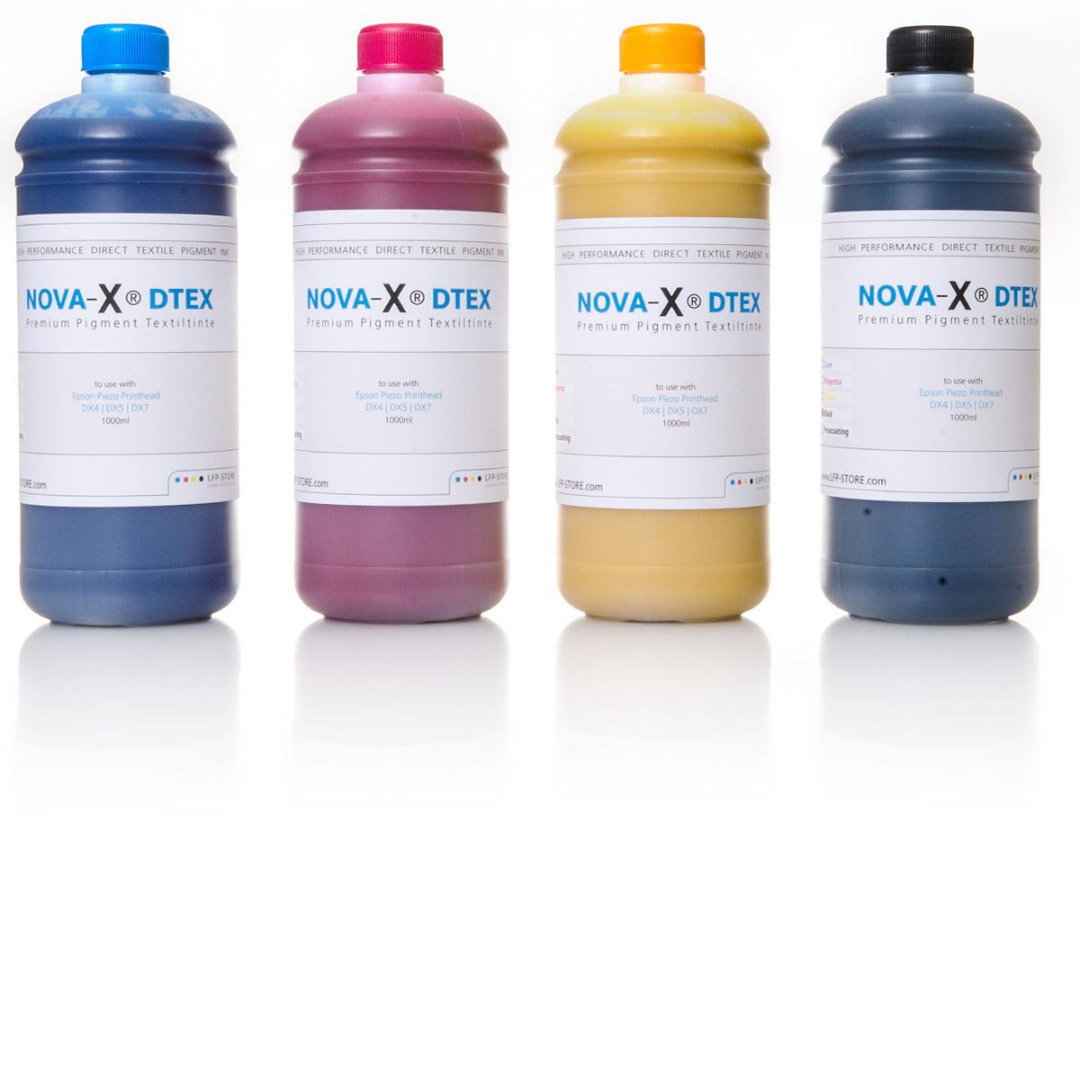 NOVA-X® DTEX | 1L | Pigment Textiltinte | T-Shirtdruck | Textildruck